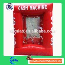 Caixa de dinheiro inflável engraçada