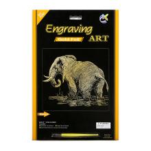 Winsor e newton ofícios de papel de elefantes de ouro
