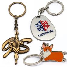 Promotion Gifts Custom Metal 3D Women Cute Keychain