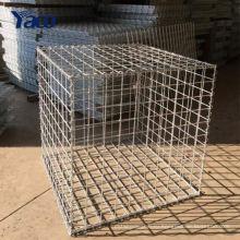 Китай сад 50x100mm Габионы 2*1*1м сварные Габионных окне