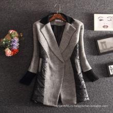 Оптом Верхняя Одежда Высокое Качество Женщин Зимнее Пальто