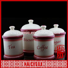 ceramic candle jar