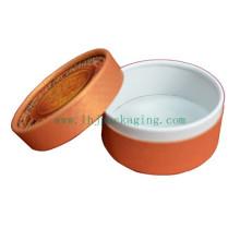 Caixa de Vela Redonda Caixa de Embalagem de Chá Redonda