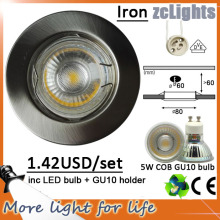 5W COB Slim LED Down Light avec Ce RoHS
