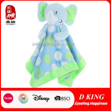 Green Elephant Toys Soothing Towel for Baby