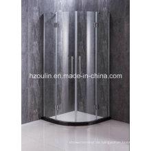 Einfache Dusche mit Scharnier