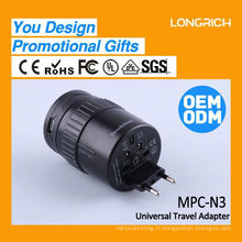 Le meilleur cadeau de Noël clipsal prise de surface à connexion rapide, prise multiple d'entreprise avec 2 ports USB
