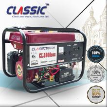 CLASSIC CHINA Alambre de Alambre Generador de CA monofásico 220v, Generador de gasolina de fase cuadrada 8500w