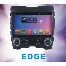 Android System Car DVD y coche GPS para Edge con navegación TV WiFi