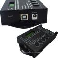 LED Tempo Dimmer Controlador RGB TC420 DC12V / 24 V 5 Canal 20A 5 canais Ânodo Comum Programável