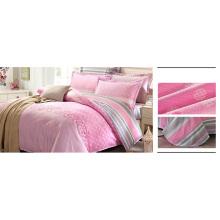 Conjunto de cama de design clássico 100% algodão cachecol conjunto F1736
