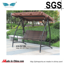 Garden Rattan Patio Furniture Hanging Egg Chair for Sale (ES-OL155)