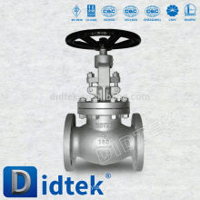 Didtek Fundición de Acero WCB Flange End Globe Valve China Manufacturer