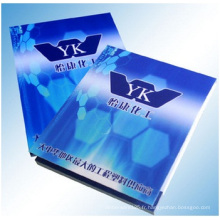 Bloc-notes pour la publicité, logo imprimé de notes collantes bleues