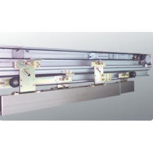 Operadores de puerta automáticos telescópicos enmarcados de aluminio