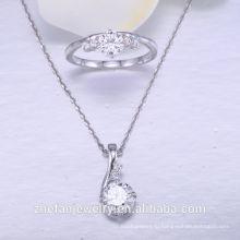 Серебряный Цвет ювелирных изделий цепи тяжелая комплект ювелирных изделий в серебре 925 стерлингового серебра ювелирные изделия свадебные аксессуары