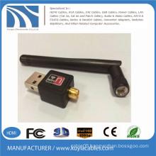 New type USB2.0 Wireless wlan card 802.IIN Desktop laptop wifi 150Mbps