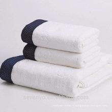 Ensemble de serviettes 100% coton extra doux de haute qualité