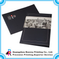 Hot sale logo custom printing handmade paper file folder with two pockets