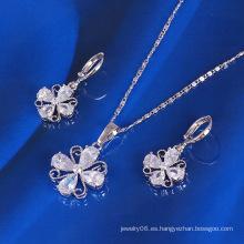 Xuping Lucky Clover conjunto de joyas (61179)