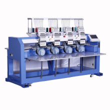 High speed 4 head computerized embroidery machine for hat and t-shirt logo