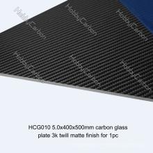 3K Twill / Plain Matte / Glänzendes Full Carbon Fiber Blatt für FPV / Drone