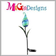 New Design Solar Garden Decoration Estacas de iluminação ao ar livre