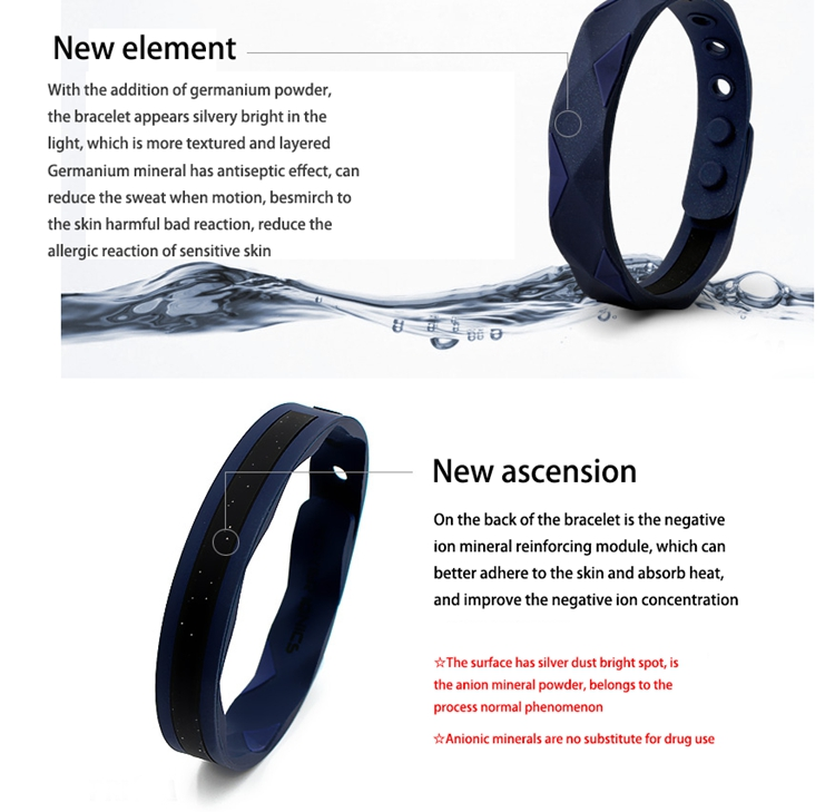 Sports Energy Silicone Wristbands