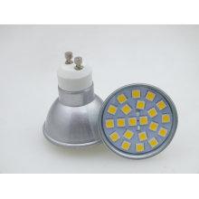 Nuevo GU10 21 bombilla de punto del poder más elevado LED de PCS 5050 SMD 3W