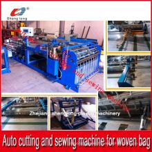 China Supplier Machine de découpe et de couture automatique pour sac en plastique en plastique PP