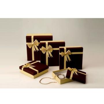 Caja de embalaje de joyas de lujo elegante