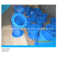 Ggg50 Ductile Iron Epoxy Foot Bend with Fix Flanges