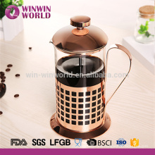 Hangzhou Yingmaode Fashion Design Customized Stainless Steel Tea Maker Plunger 1L
