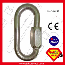 25kN Stainless Steel 304 Quick Link Hook Certified With CE