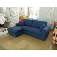 Blue Color Fabric Sofa, Modern Sofa, Home Furniture (S055)