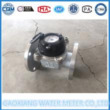 Aço Inoxidável 304 Woltman Tipo Water Meter