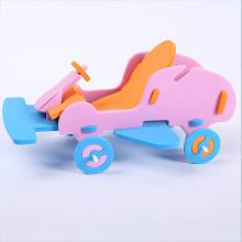 Juguete del camión del coche de EVA de las artesanías de los niños de DIY