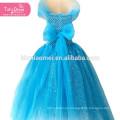 Cinderella Dress Girls Princess Children Kids Christmas Halloween Cosplay Costume Sequins Tutu Dress Vestidos