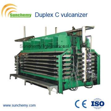 Vulcanizador de borracha topo de gama Duplex C