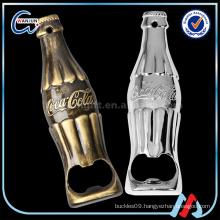 Zinc Alloy Bottle Shaped Bottle Opener