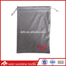 Customized Microifber Cloth Drawstring Bags With Logo Printed