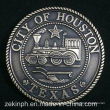 Custom Us State of Texas Souvenir Monedas de metal