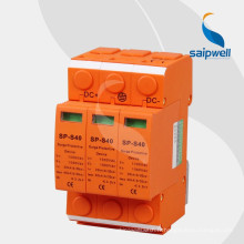 Protecteur de foudre pour signal coaxial de couleur orange SAIPWELL SP-S40 3P DC