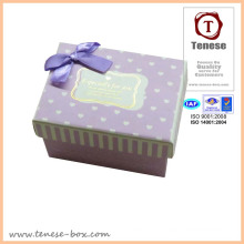 Decrative Bow Tie Paper Packaging Box
