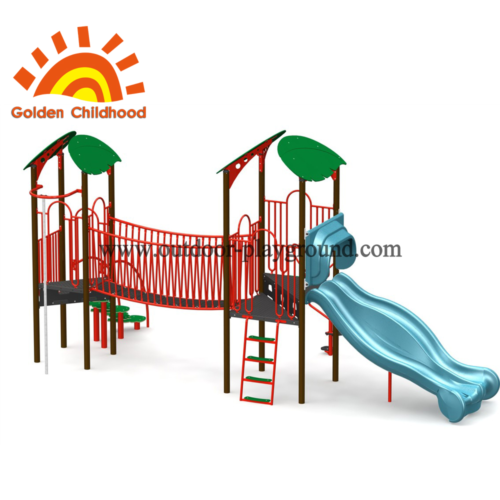 Simple Slide In The Park For Children