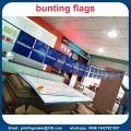 Custom Double Sided Dicetak PVC Bunting Flags