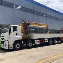 Grue montée sur camion 8x4 Japan VC61 460hp