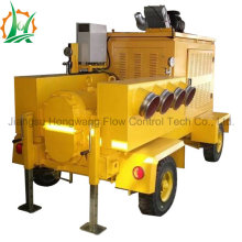 Cam Rotary Wastewater Trailer Diesel Rotary Pump