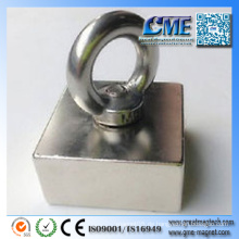 Magnet mit Haken Großer Magnethaken Neo Hakenmagnet