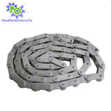Corrente transportadora de aço inoxidável de passo duplo / grande